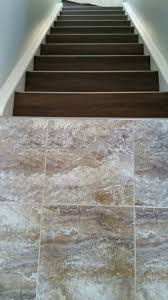 Stair Nosing For Vinyl Tile by Flexiplank Luxury Vinyl Plank In The Western Pursuit Colour And