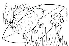 Spring Coloring Pages Free Kids Printable