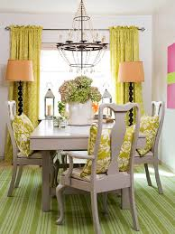 Dining Room With Throw Pillows