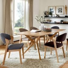 niehoff bozen essgruppe 7 teilig bestehend aus design tafel 6943 und sechs design polsterstühlen 4561 für speisezimmer küche oder wohnzimmer