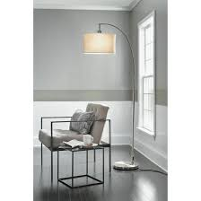 Room Essentials 5 Head Floor Lamp White by Arc Floor Lamp Silver Project 62 Target