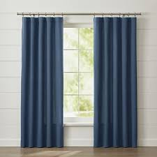 Yellow And White Curtains Canada by Curtain Panels And Window Coverings Crate And Barrel