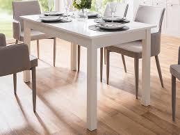 esszimmertisch auszugtisch holztisch esstisch küchentisch tisch crawley ii weiß