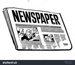 Newspaper Print Clipart Clip Art Images 3213