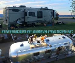 Why We Sold Our 5th Wheel And Bought A Vintage Airstream - Part 2 ... Truck Campers Rv Business New 2018 Airstream Tommy Bahama Inrstate Grand Tour Motor Home Weekend Luxury Living In Classic Alinum Trailer Food Truck Foote Family Nomad Trailer In Traffic For American Simulator Camper Shell Or No Pickup Tv Forums The Lweight Ptop Revolution Basecamp You Can Pull Behind A Subaru How To Choose The Right Live Fulltime Travelers Truckdomeus 1968 Avion C11 Restoration Forums Reincarnated From Family Camper Airbnb