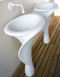 Home Depot Bathroom Flooring Ideas by Bathroom Ideas Two Spiral Shaped Pedestal Home Depot Bathroom