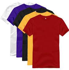 Men Plain T Shirts