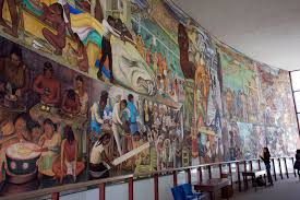 historic diego rivera mural ready to move at ccsf by m barba