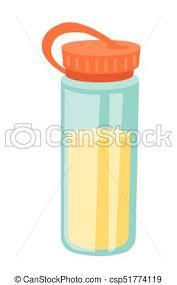 Protein Shaker Vector Cartoon Illustration