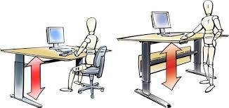 travailler dans les bureaux poste de travail dynamique ergo 360