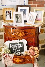 Classy Wedding Memorial Table With Rose Gold Accents A Delicate Way To Say We Are