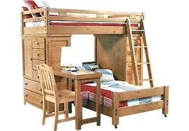 Twin Loft Beds With Desk Full Size Enterprise Twin Over Full