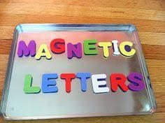 Colourful Alphabet Magnets Vintage plastic alphabet magnets
