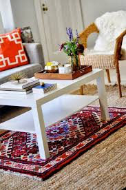 how to layer rugs The Handmade Home