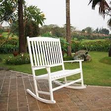 Amazon Patio Outdoor Rocking Chair White 2 Seat Pool Porch