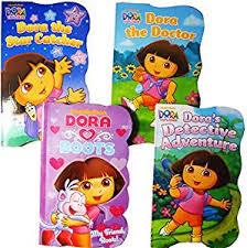 Dora The Explorer Kitchen Set India by Buy Dora The Explorer Baby Toddler Board Books Set Of Four