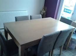 DINING TABLE Amp 6 CHAIRS FROM HOMEBASE VGC Tipton Wolverhampton