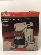 Vintage Melitta EX 3A ITALIAN ESPRESSO MACHINE SS STAINLESS STEEL