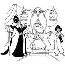 The Jasmine With Jafar Coloring