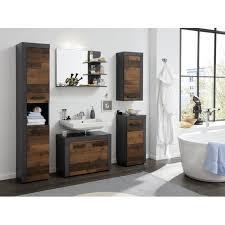 waschbeckenunterschrank cancun in used wood design mit