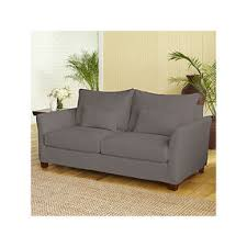 charcoal luxe sofa slipcover collection cost plus world market
