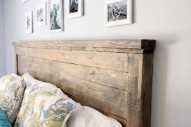 White King Headboard Wood by Ana White Reclaimed Wood Headboard Cal Ideas Also King Picture