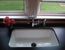 cast iron kitchen sinks ceco and kohler cast iron kitchen sinks