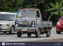 100 Hijet Mini Truck Chiangmai Thailand September 4 2018 Private Old Of