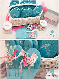 Cute Spa Party Idea For Little Girls Get Mani Pedis Make Flip Flops