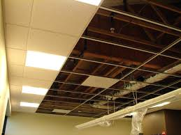 Hanging Drywall On Ceiling by Soundproof Drop Ceiling In Basement By Modern Insulation Pretty