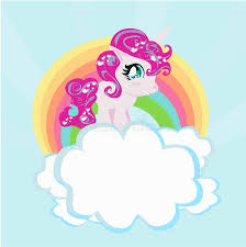 Card Cute Unicorn Rainbow Clouds Illustration 800 802 Unicorns