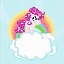 Card Cute Unicorn Rainbow Clouds Illustration 800 802 Unicorns
