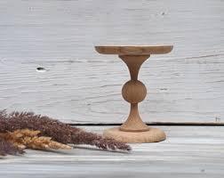 4 Inch Wooden Cupcake Standmini Cake Standmuffin Pedestalrustic