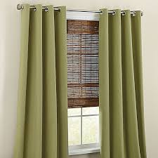 Brylane Home Curtain Panels by Brylanehome Studio Canvas Grommet Curtain Window Brylanehome