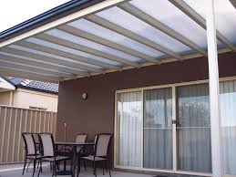 Palram Feria Patio Cover by Opaque Polycarbonate Roof Insulated Panels And Structure Shown