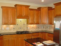 Kitchen Backsplash Pictures With Oak Cabinets by Kitchen Room 2017 Adorable Using Black Granite Countertops