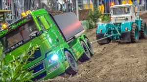 100 Rc Pulling Trucks RC Tractor Truck Rescue And Tractors In ACTION