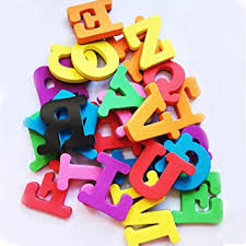 Amazon Bigger Size Magnetic Letters and Numbers for Kids Toys