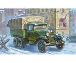 100 Model Truck Kits 135 WWII GAZAAA Soviet 135 Plastic Zvezda