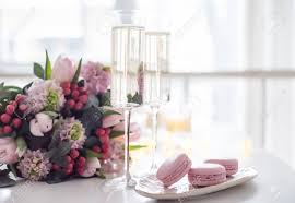 100 Elegant Decor Beautiful Wedding Decoration With Champagne And Pink Flowers