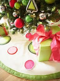 Modern Christmas Tree Skirt For The Holidays