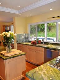 contemporary kitchen replacing fluorescent lights design pictures