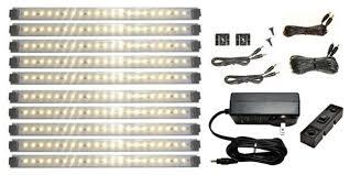 led cabinet lighting kit pro series 21 led deluxe kit