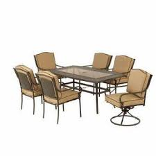 Martha Stewart Living Patio Furniture Mallorca Collection 7 Piece Dining Set