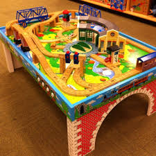 this Thomas the Train table top would look better at home instead