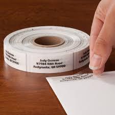 Patio 44 Hattiesburg Ms Menu by Clear Address Labels 1000 Roll Clear Address Labels Miles Kimball