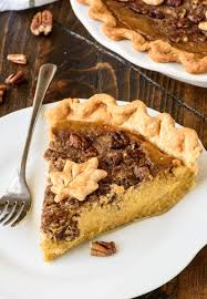 Pumpkin Pie With Pecan Praline Topping by Pumpkin Pecan Pie