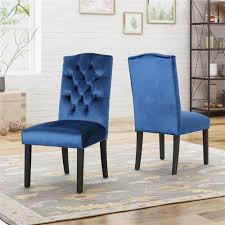Dining Chairs In Navy Blue Velvet - Set Of 2 [ID 3843340] Fairy Contemporary Fabric Ding Chairs Set Of 2 Navy Blue Shelby Chair In Channel Tufted Velvet By Meridian Fniture Hanover Mcer 5piece Patio With 4 Cushioned And A 40inch Square Table Mercdn5pcsqnvy Colston Silver Leaf Including Brookville Harley Traditional Microfiber Details About Bates New Opal Room Gold William