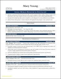 Sample Resume Human Resources Entry Level Inspirationa Hr Generalist Download