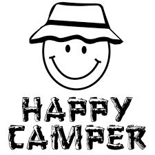 Happy Camper Funny T Shirt